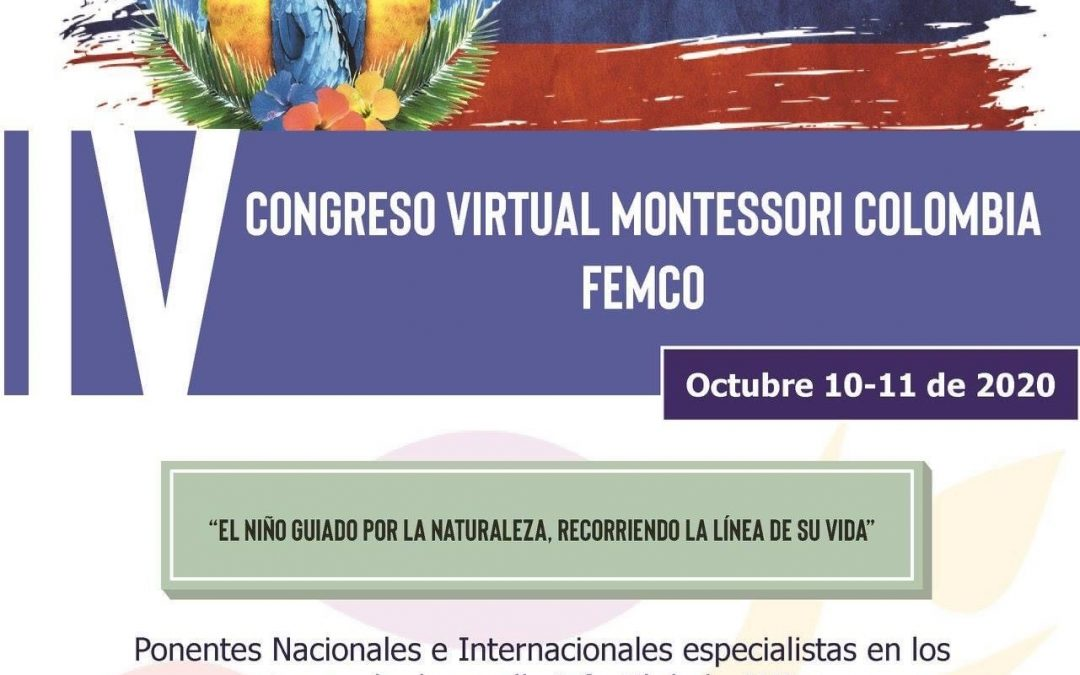 IV CONGRESO VIRTUAL MONTESSORI COLOMBIA FEMCO